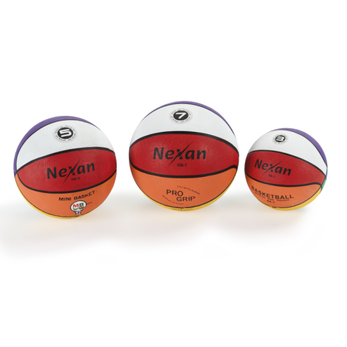 Basketball Nexan Rainbow, size 3 - Schelde Sports