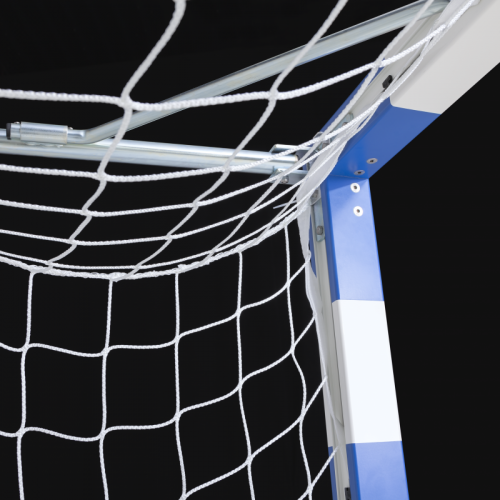 Goal Net 300x200 Cm 10x10 Cm 248 2 2 Mm White With Band