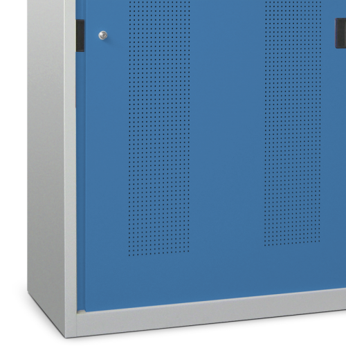 Cabinet Type 5 With Perforated Sliding Doors