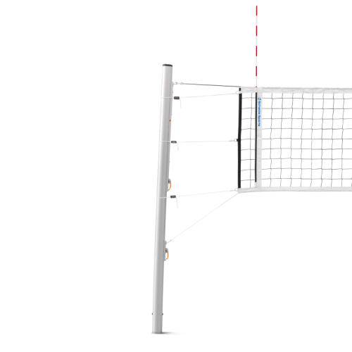 Volleyball Post With Net Hooks Schelde Sports